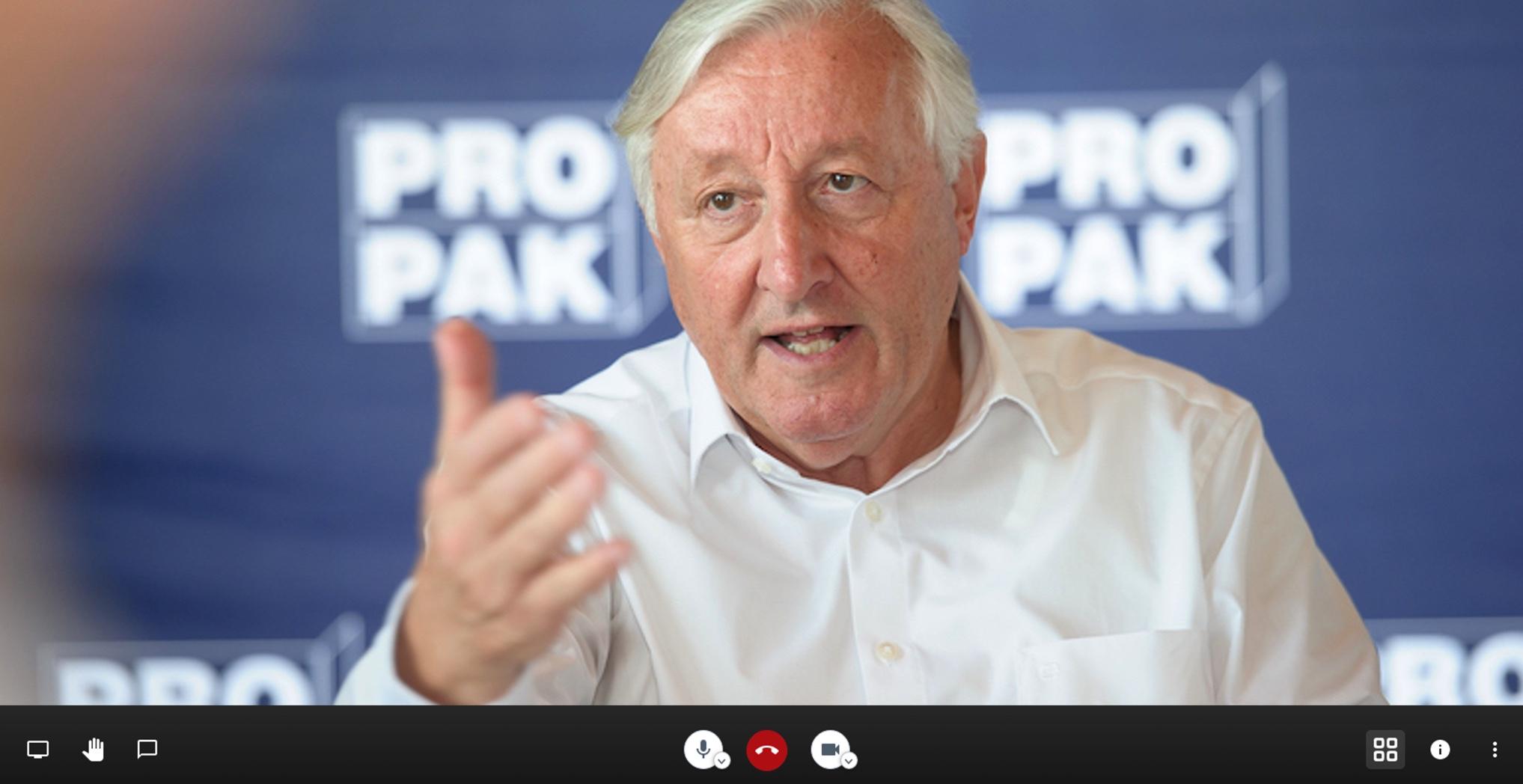 Video-Talk Obmann Fischer