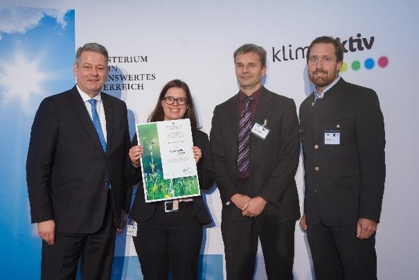 AR Carton Graz gewinnt fnfte klimaaktiv Auszeichnung