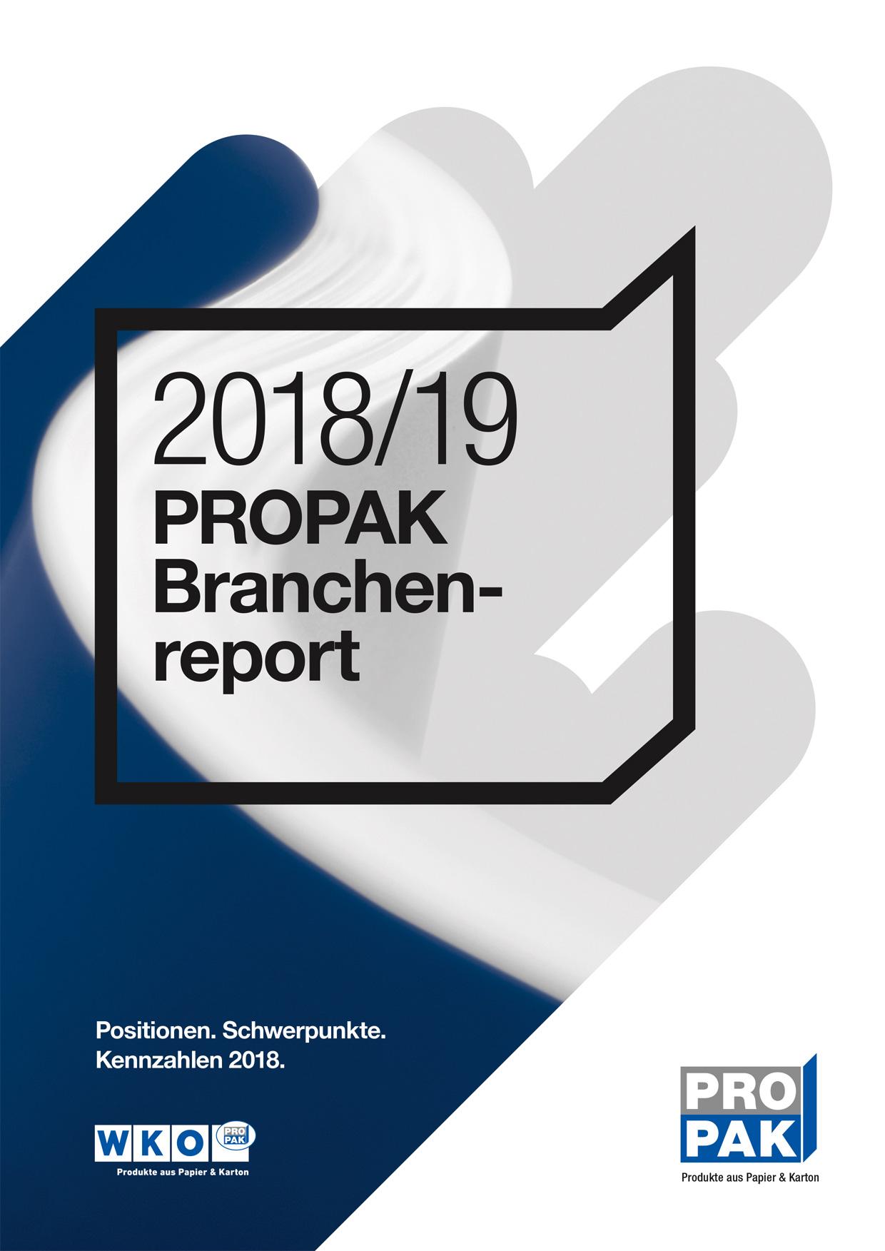Cover Branchenreport 18 19