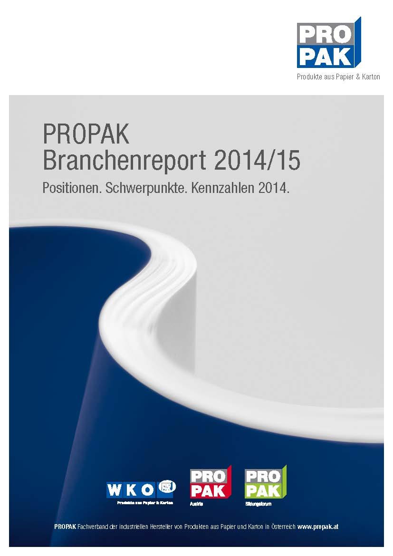 Deckblatt Branchenreport14 15